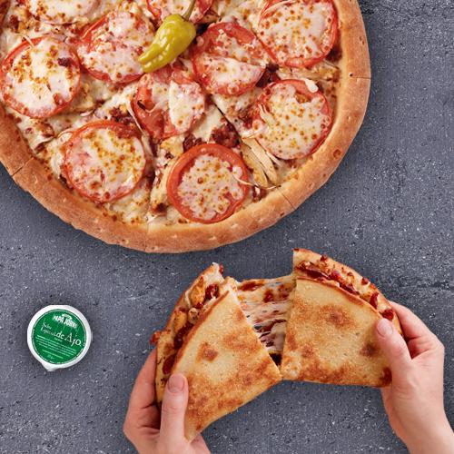 Pizza mediana especialidad + Papadia (Antes 21,5€)