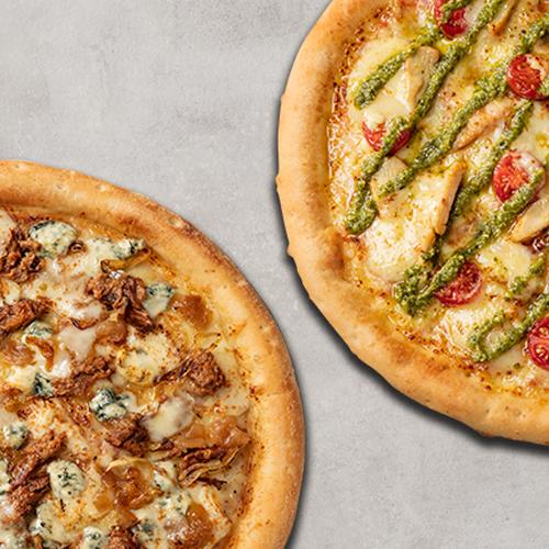 2 Pizzas Grandes Premium