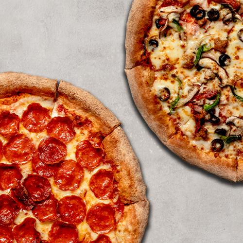 2 Pizzas Grandes Especialidades