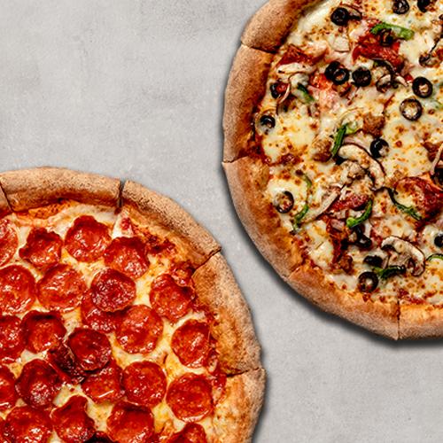 2 Pizzas Medianas Tradicionales