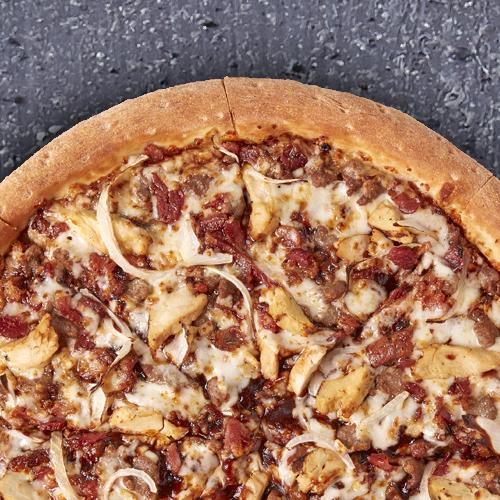 Pizza 3 Ingredientes, Grande (Masa fina) ¡Nueva!