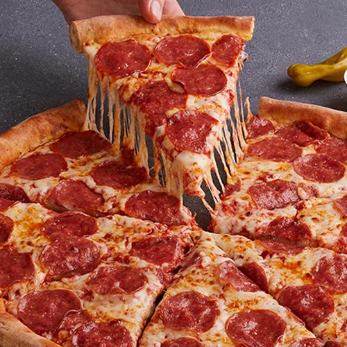 Pizza Super Pepperoni Familiar