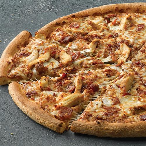 Pizza por mitades, Grande (Masa Fina)