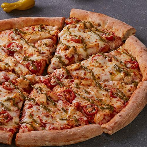 Pizza Pollo Caprese Grande
