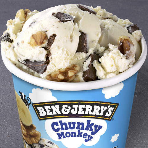 Helado Ben & Jerry's Chunky Monkey(465ml)